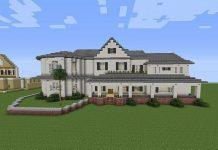 cách xây nhà biệt thự trong minecraft